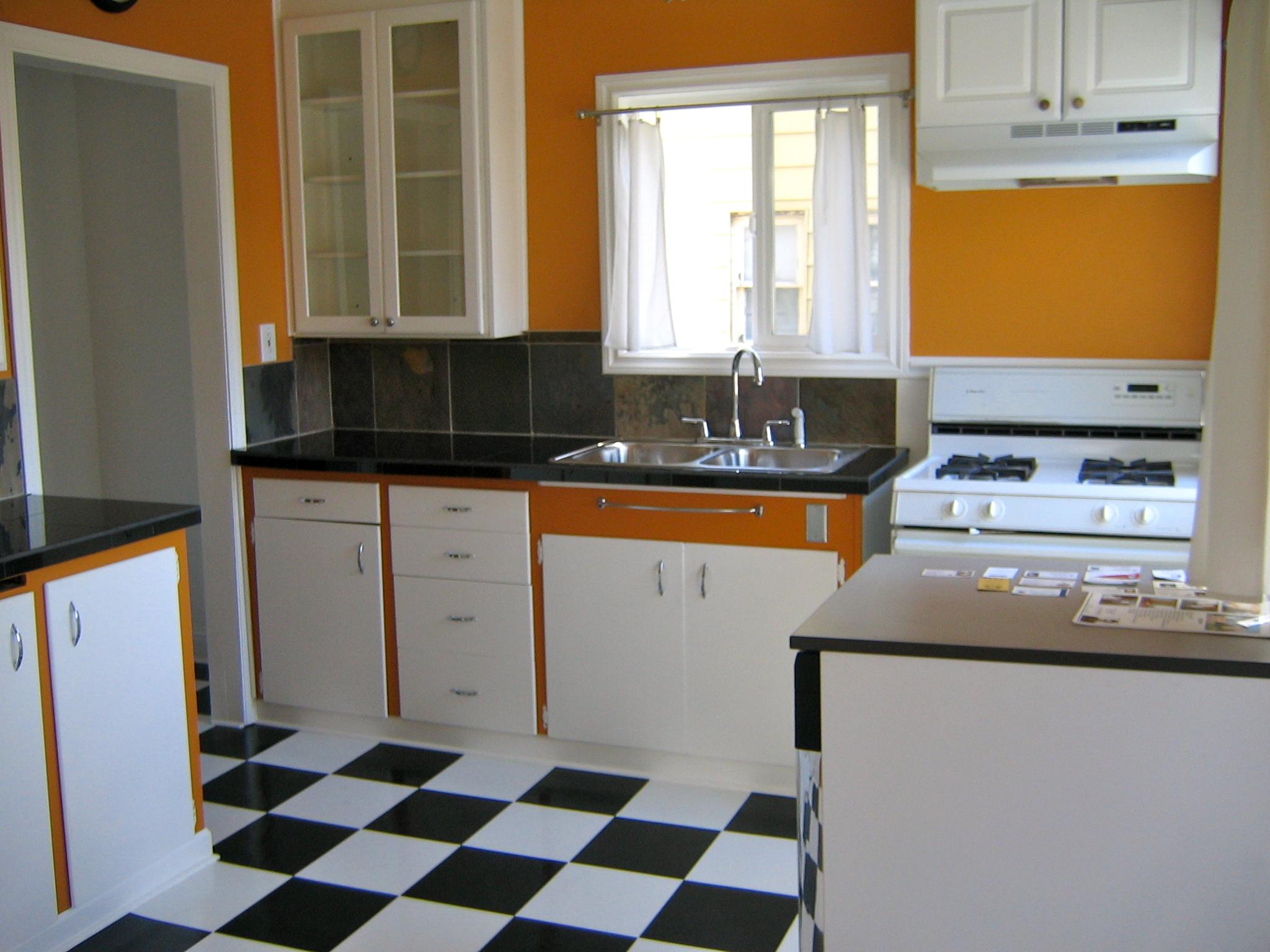 Single Upper Kitchen Cabinet remodel | savory salty sweet