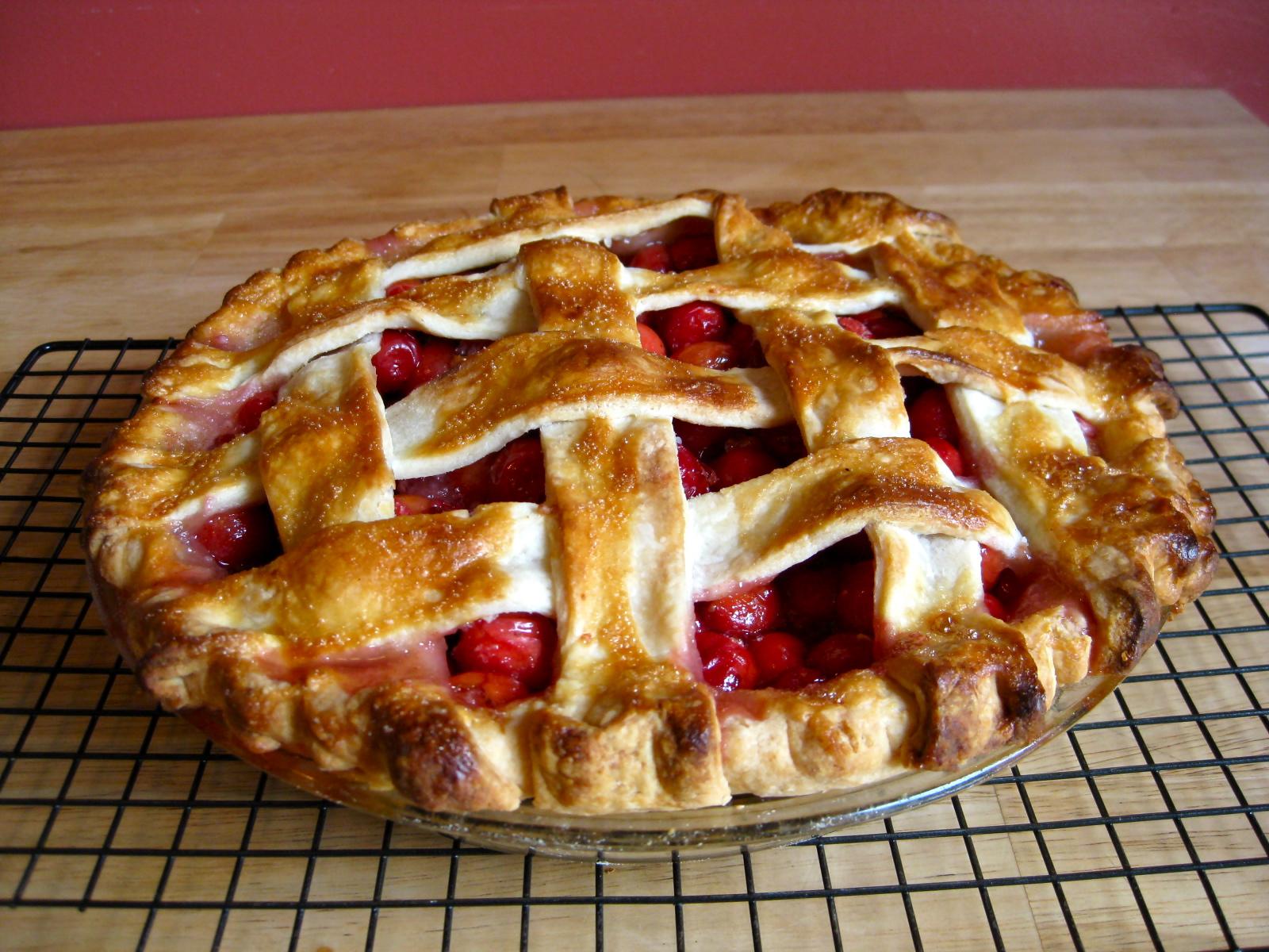 Sour Cherry Pie | Savory Salty Sweet