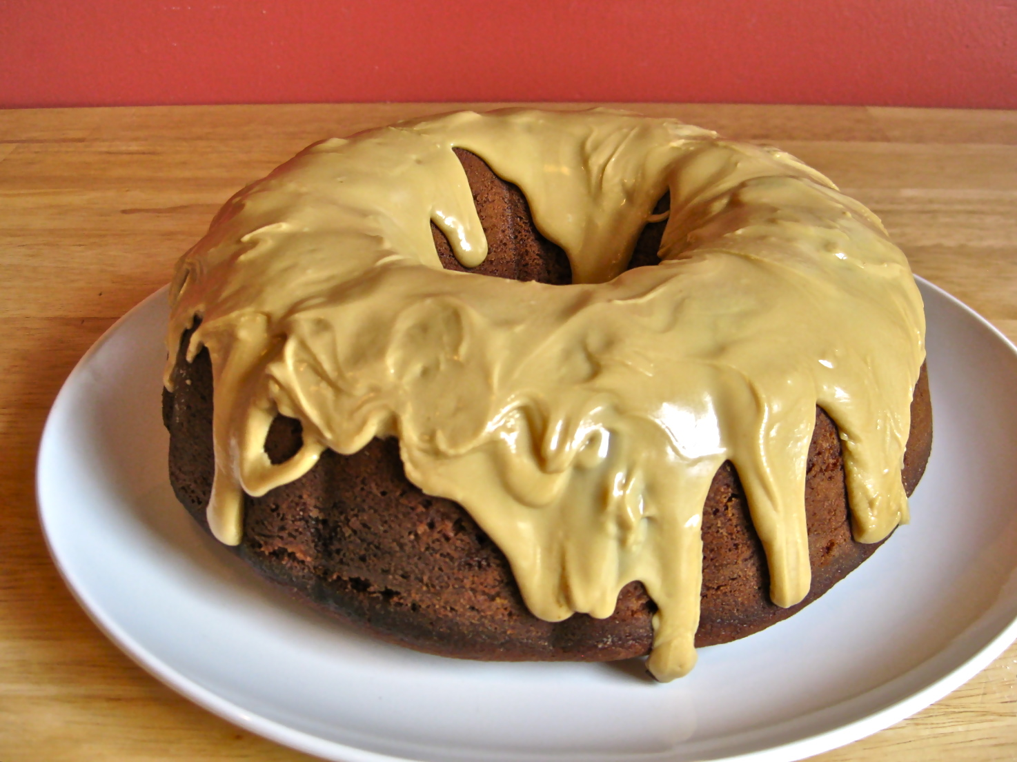 ... mild molasses paired with pecan molasses bundt cake with bourbon glaze