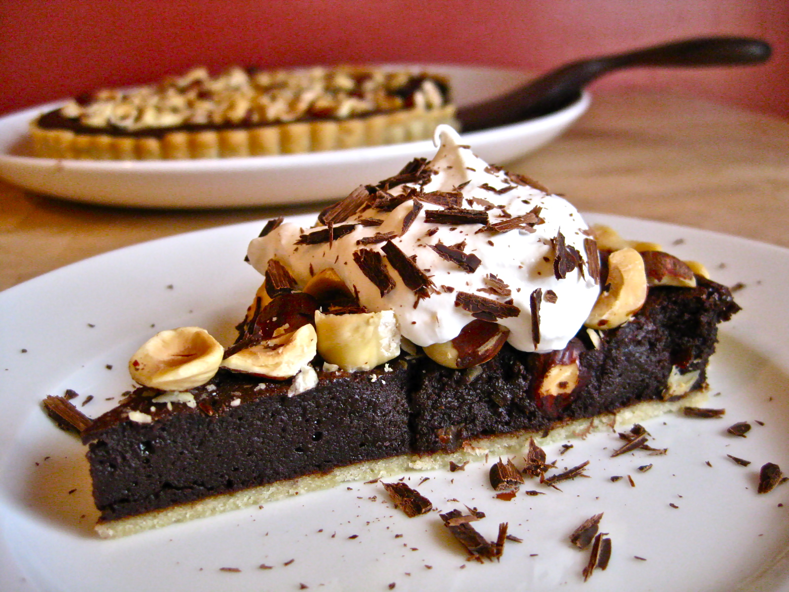 Salted Chocolate Hazelnut Tart | Savory Salty Sweet