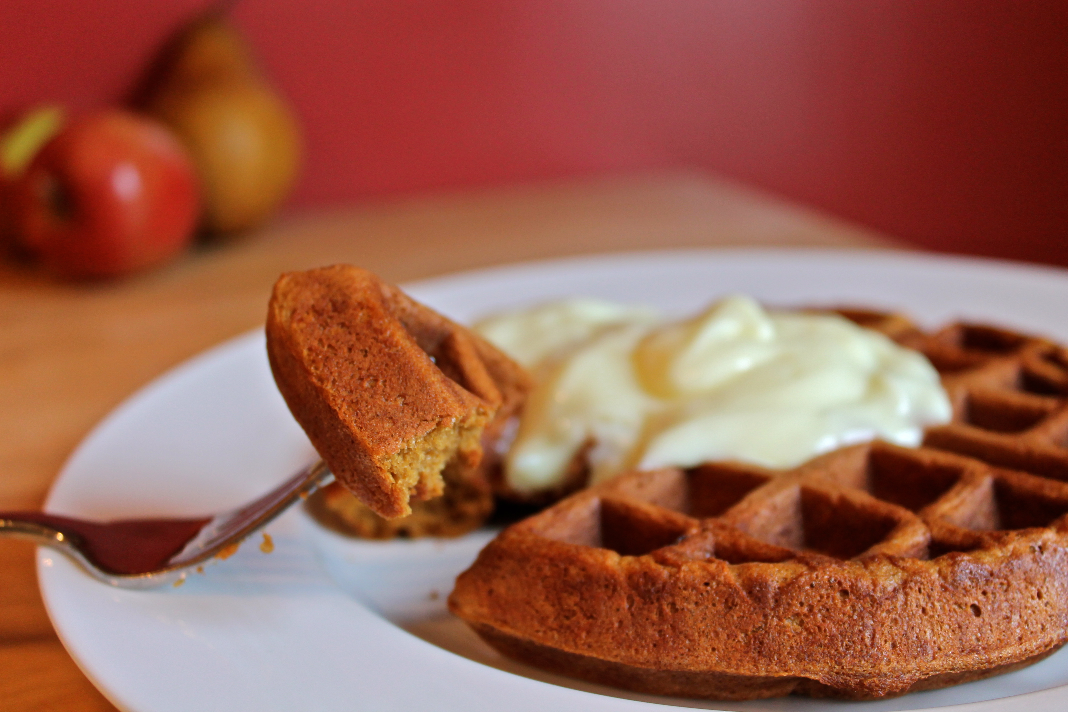 gingerbread waffles with gingerbread waffles recipe nutty gingerbread ...