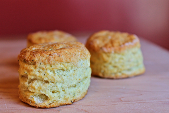 Tzatziki Biscuits with Caramelized Shallot Butter | Savory ...