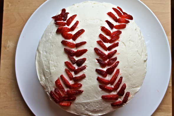 Last Year Peach And Ginger Brown Sugar Shortcakes No Recipe I Ate This Vanilla Strawberry Baseball Cake