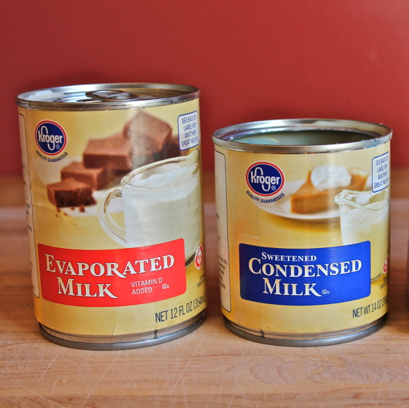 recipe for sweetened condensed milk using evaporated milk
